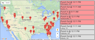 Punch Map