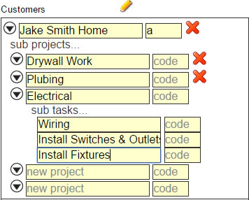 Job & Project Costing Setup